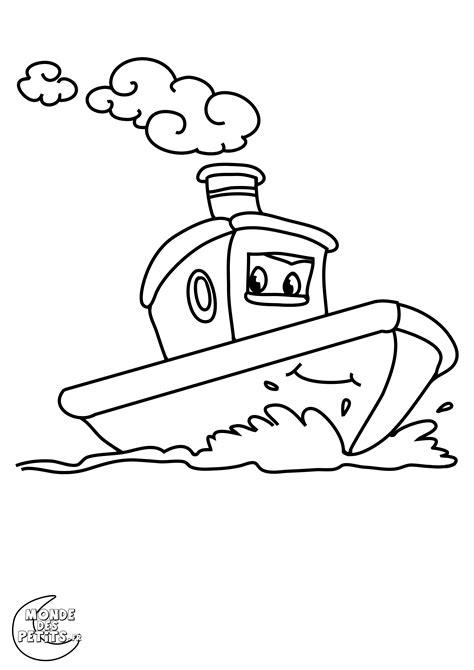 dessin anime bateau sur l eau monde des petits coloriages 224 imprimer
