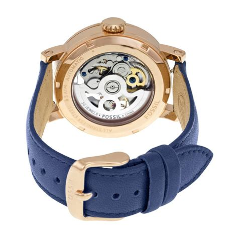 Fossil Fs0103 Navy Blue fossil boyfriend automatic navy end 6 23 2017 12 15 am