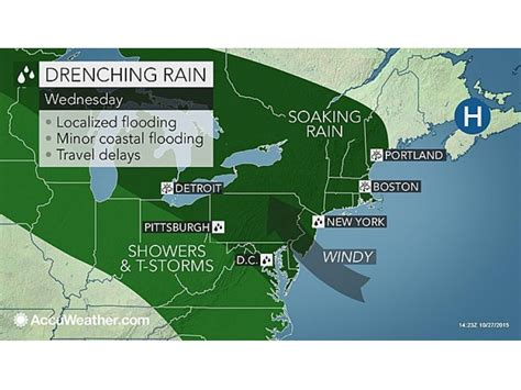weather alert heavy rain possible flooding forecast for