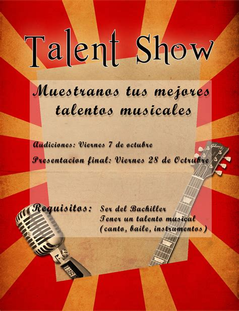 Talent Show Flyer Sketch By Pinwinoblood On Deviantart Free Printable Talent Show Flyer Template
