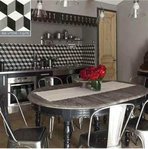 Beau Carrelage Cuisine Blanc Et Noir #3: carreau_ciment_geometrique_7290-3-z.jpg