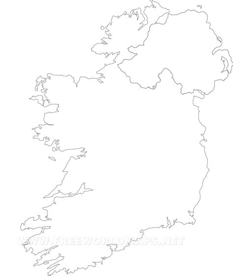 Ie Map Area Outline by Ireland Outline Pictures To Pin On Pinsdaddy