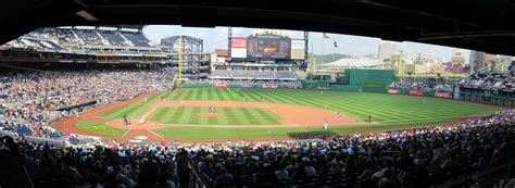 pnc park sections pnc park panoramas cook sons baseball adventures