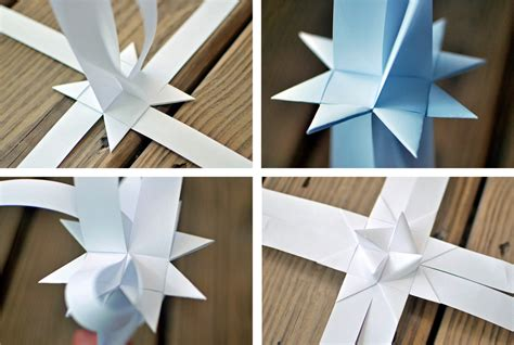Paper Folding Tutorial - origami folded paper german tutorial crafthubs