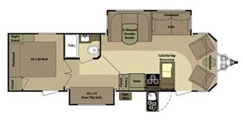 open range floor plans 2012 open range rv mesa ridge series m 285f specs and