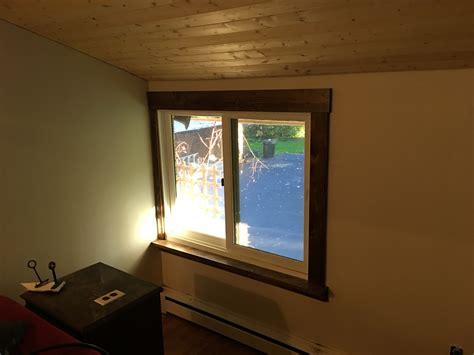 drapery trim pine window trim dave eddy
