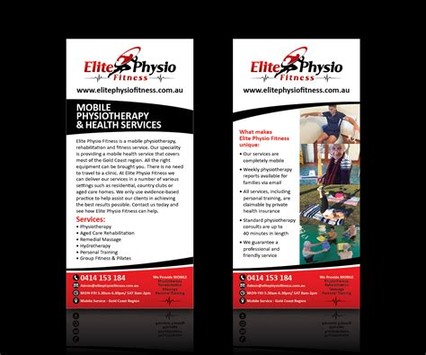 design flyers online australia business flyer design for elite physio fitness by argyle