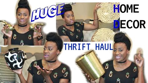 thrift store home decor haul youtube home decor thrift haul goodwill beam thrift store