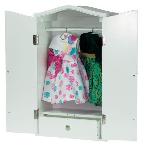 18 Inch Doll Wardrobe Armoire by Laurent Doll 18 Inch Doll Pink Striped Armoire The Doll