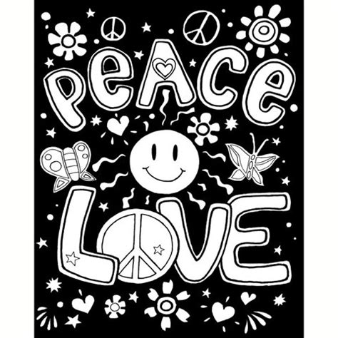 16 X 20 Inch Velvet Color In Posters With Markers Peace Coloring Posters