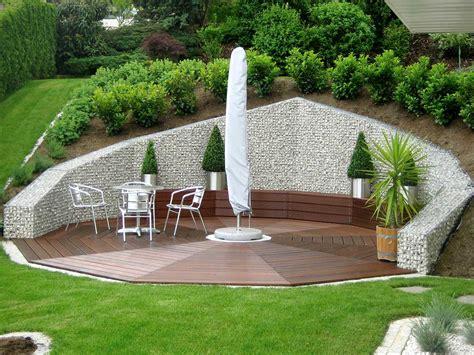 genius gabion garden ideas  decorating   budget