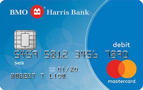 Bmo Harris Bank Debit Mastercard 174 Debit Cards Bmo