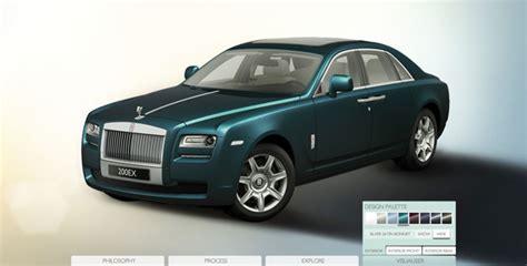 Rolls Royce Configurator by Rolls Royce Previews New Ghost With 200ex Configurator