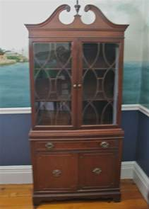 antique china cabinet styles antique federal style china cabinet ebth