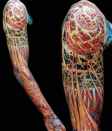 crazy arm tattoo designs the meaning of skull sleeve tattoos ideas mag