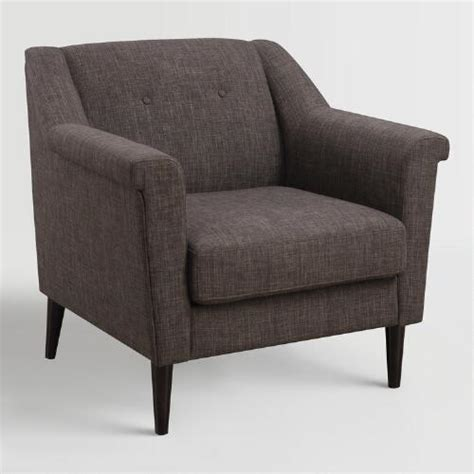 world market armchair brown navarre upholstered armchair world market