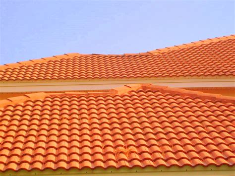 Ceramic Tile Roof Ta Roof Cleaning Barrel And Concrete Tile Roof Cleaning Roof Cleaning Ta Florida