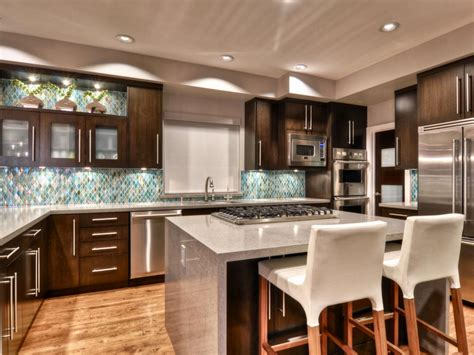 contemporary island kitchen open concept modern kitchen shirry dolgin hgtv