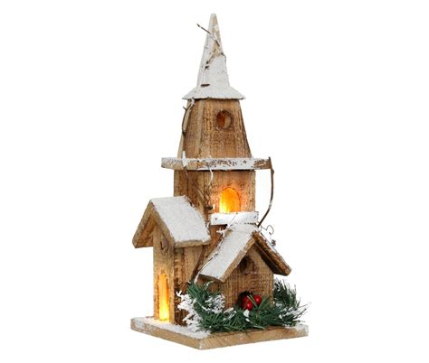 how to make wooden a christmas church light up wooden church cancer research uk shop