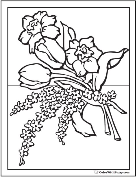 coloring pages of flowers that you can print flower coloring pages that you can print printable flower