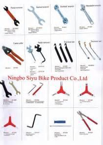 Mechanic tools names bicycle repair tool lkits cycle tools bike tools