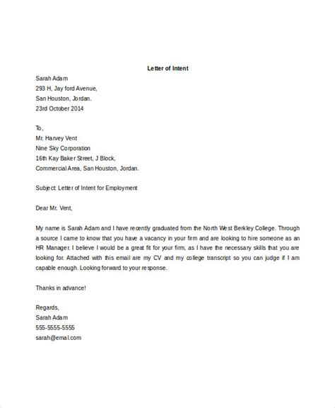 Letter Of Intent Template Docs 40 letter of intent templates free word documents free premium templates