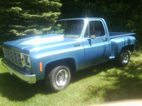 short bed truck cer craigslist sell used 1978 chevy c10 short bed stepside pickup in