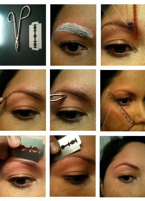 How To Arch Eyebrows At Home by How To Proper Shape Your Eyebrows Makeup Mania