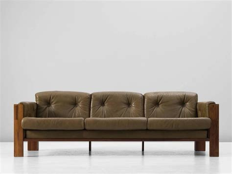 green leather sofa for sale scandinavian rosewood sofa with green leather upholstery