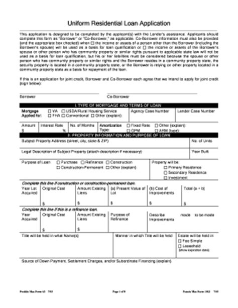 freddie form 65 pdf fill printable fillable
