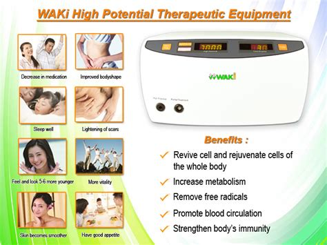 high voltage side effects waki high potential therapy side effects and benefit is