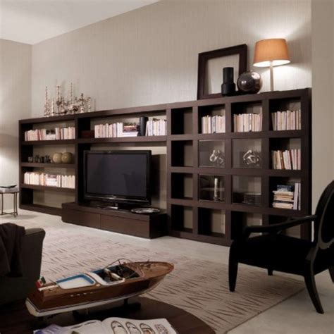 living room library 50 ideas to organize a home library in a living room