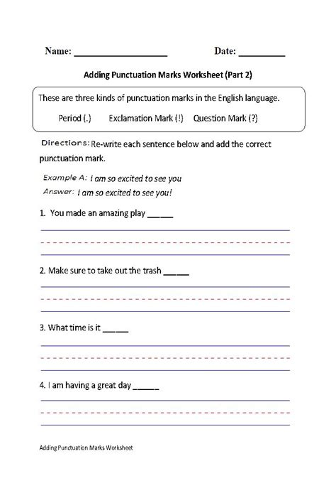 Punctuation Marks Worksheets by 32 Best Images About Creative Writing Class On