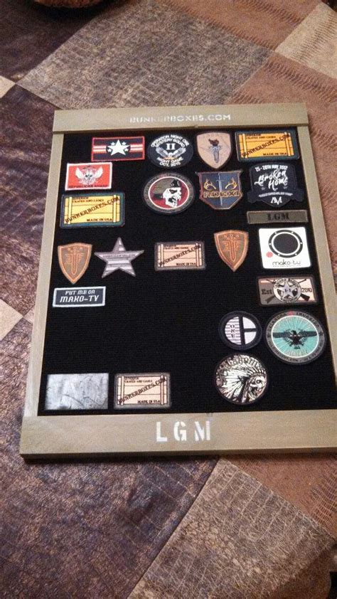 patch display morale patch display board mine gentlemint
