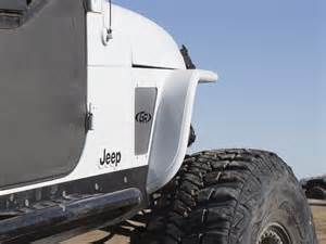 Jeep Yj With Fenders Genright Hi Fender Fenders With Built In Flares For