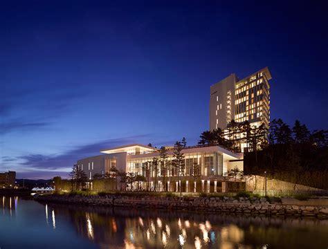 designboom hotel richard meier finalizes seamarq hotel in south korea