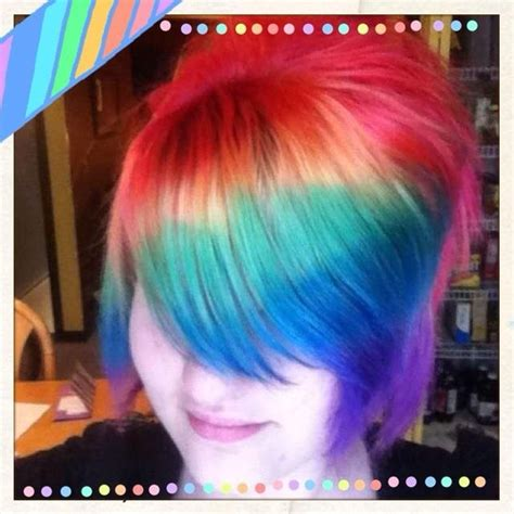 splat hair ideas 104 best images about multi colored hair on pinterest