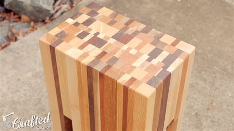 Diy Project How To Build Elegant End Table Using Scarp Wood
