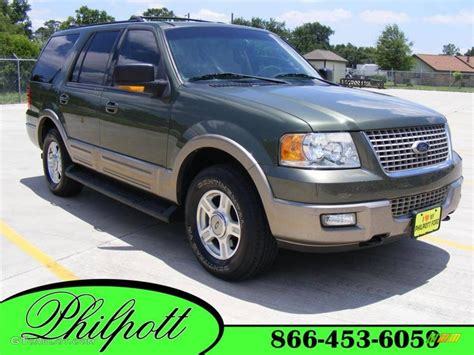Ford Expedition 2003 by 2003 Estate Green Metallic Ford Expedition Eddie Bauer 4x4