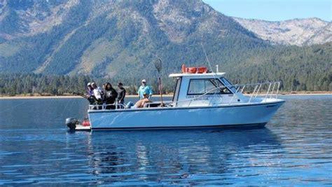 lake tahoe boat rental license private fishing charter from ski run marina tahoe sport