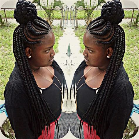 hair cut feeder braids natural life pinterest braids