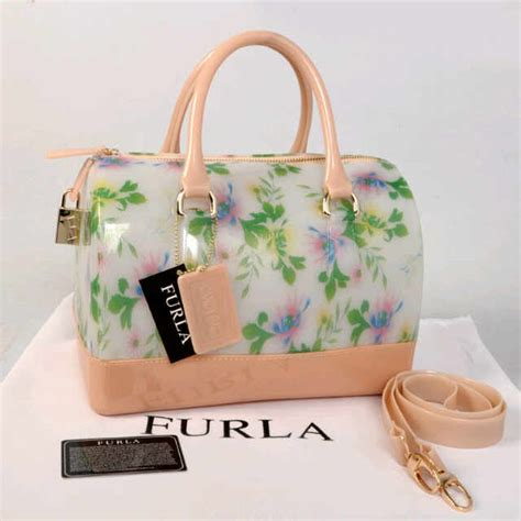 Tas Terbaru Furla Jelly Tas Jelly Polos Tas Tabung Handbag N E W 5 tas furla milk jelly flower toko brand