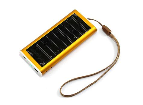 mobile in mp4 solar battery charger for mobile phone pda orange