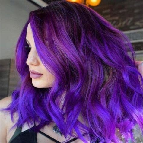 purple shoo for purple highlights purple hairstyles best light blue hair color ides