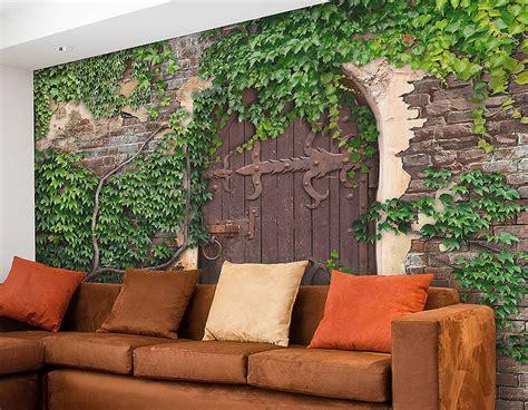 adhesive secret garden wallpaper mural