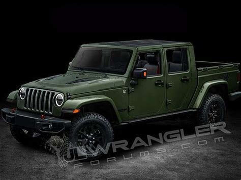 future jeep truck jl wrangler forums releases renderings of future jeep