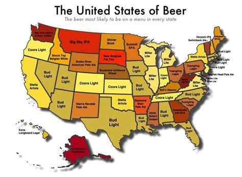 kentucky brewery map every sec state s favorite