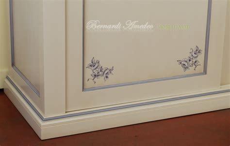 decori per armadi cameretta laccata avorio con decori camere complete