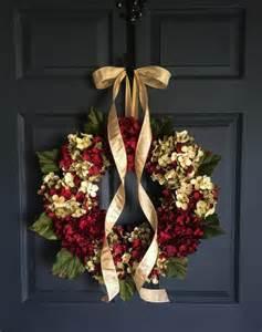 Beautiful Wreaths For Front Door Beautiful Wreaths Blended Hydrangea Wreath By Homehearthgarden