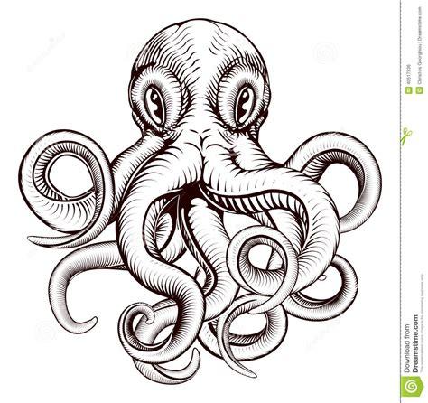 章鱼例证 向量例证 图片 40517936